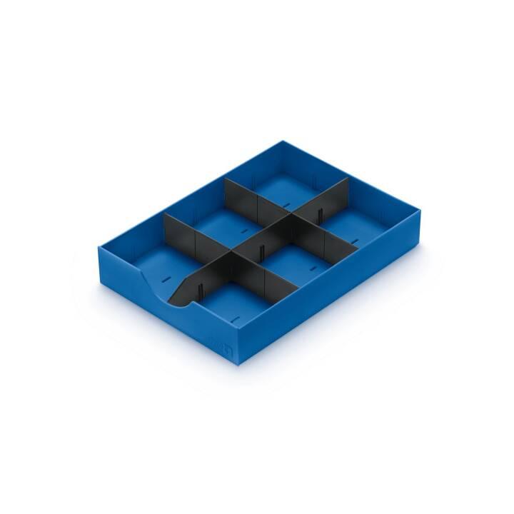STYRO styrodoc System-Schublade blau