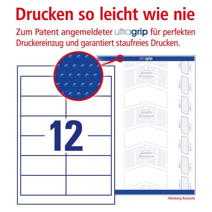 AVERY ZWECKFORM 4781 Etichette (25 pezzo, A4)
