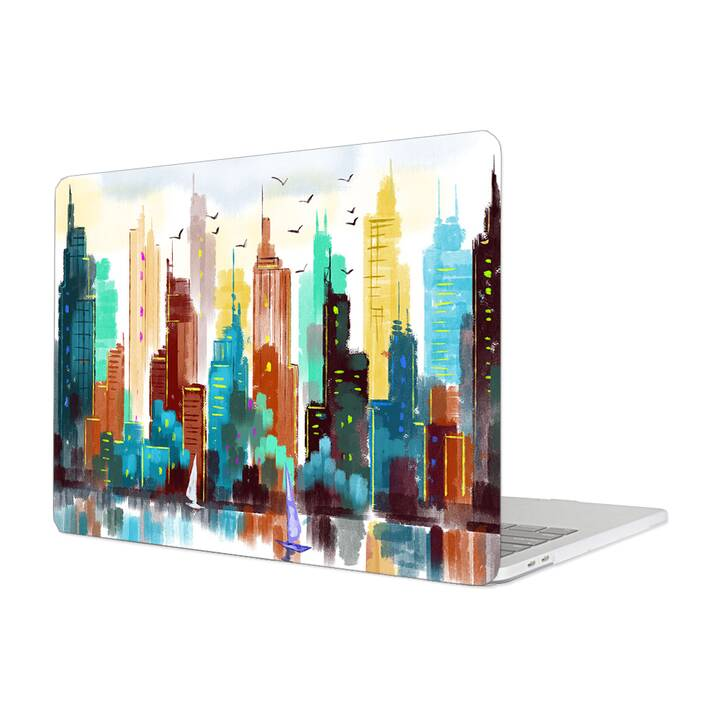 "EG MTT Étui pour Macbook 12"" Retina (2015 - 2018) - Painting City"