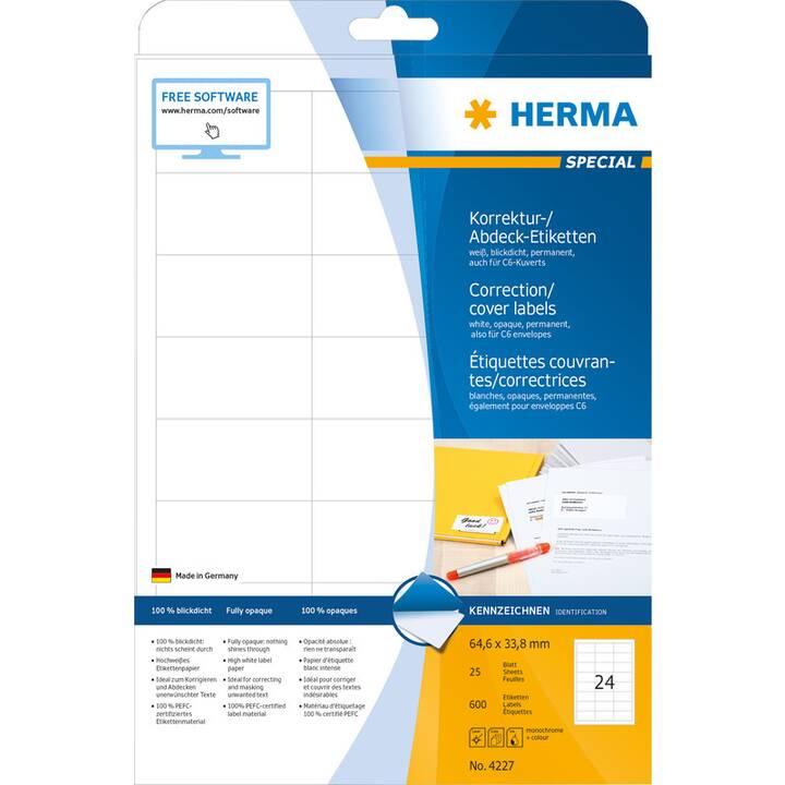 HERMA Special Etichette (25 foglio, A4)