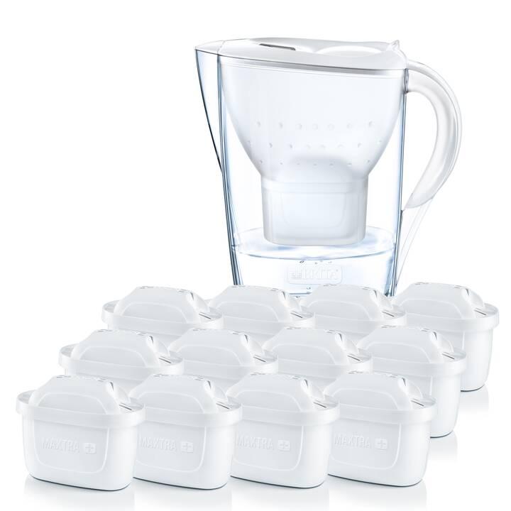 BRITA Wasserfilter Marella inkl. 12 Kartuschen