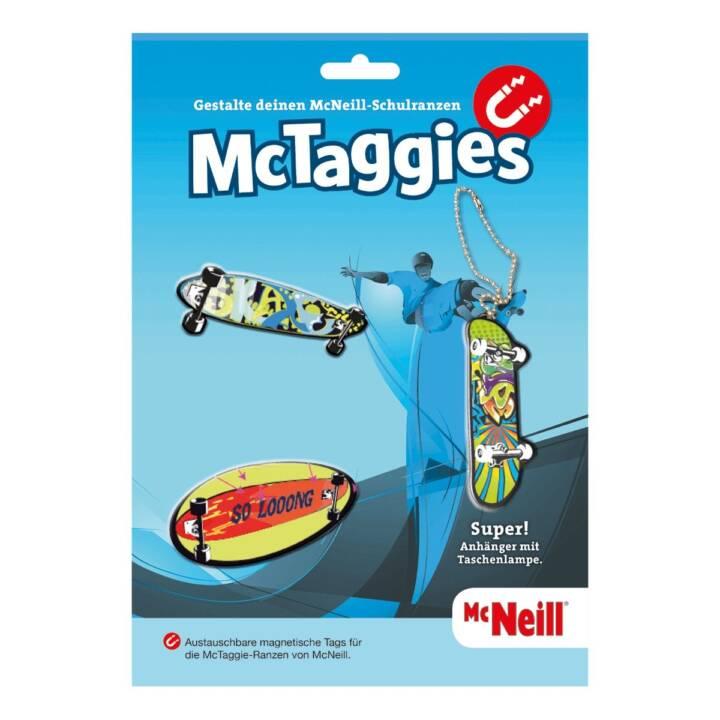 MCNEILL Skateboard Accessori di bagagli (Multicolore)