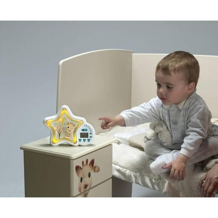 SOPHIE LA GIRAFE Réveil pour enfant Tik-Tok' go (Turquoise, Blanc)