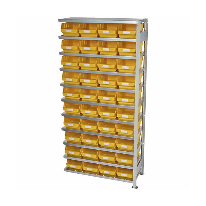 STEMO Scaffale a incastro (100 cm x 210 cm x 40 cm)