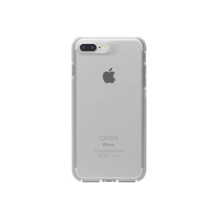 GEAR4 Backcover D3O Piccadillly (iPhone 7 Plus, iPhone 8 Plus, Transparente, Argento)