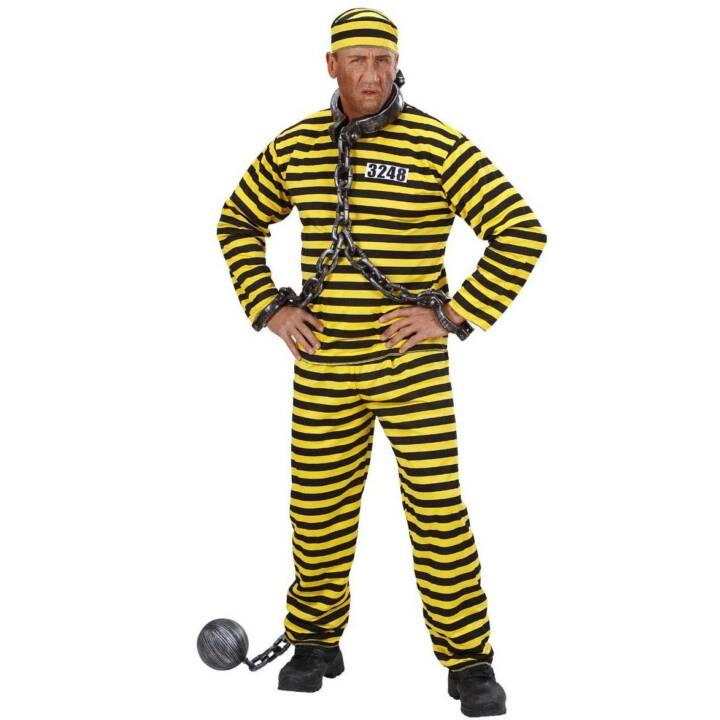 WIDMANN Kostüm Sträfling, Gr. M, Costumes pour adultes