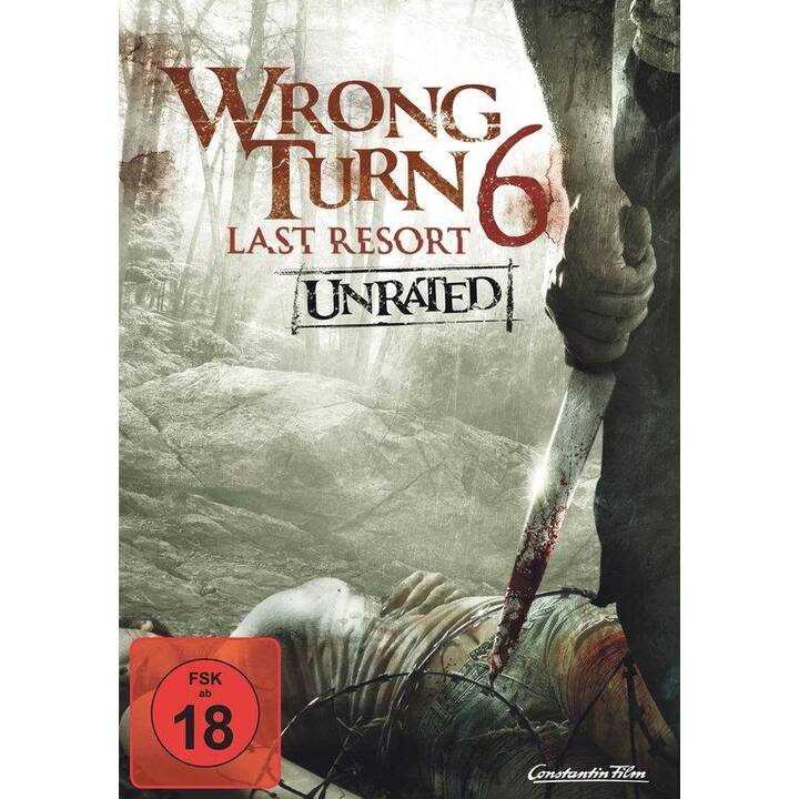 Wrong Turn 6 - Last Resort (Unrated) (DE, EN)