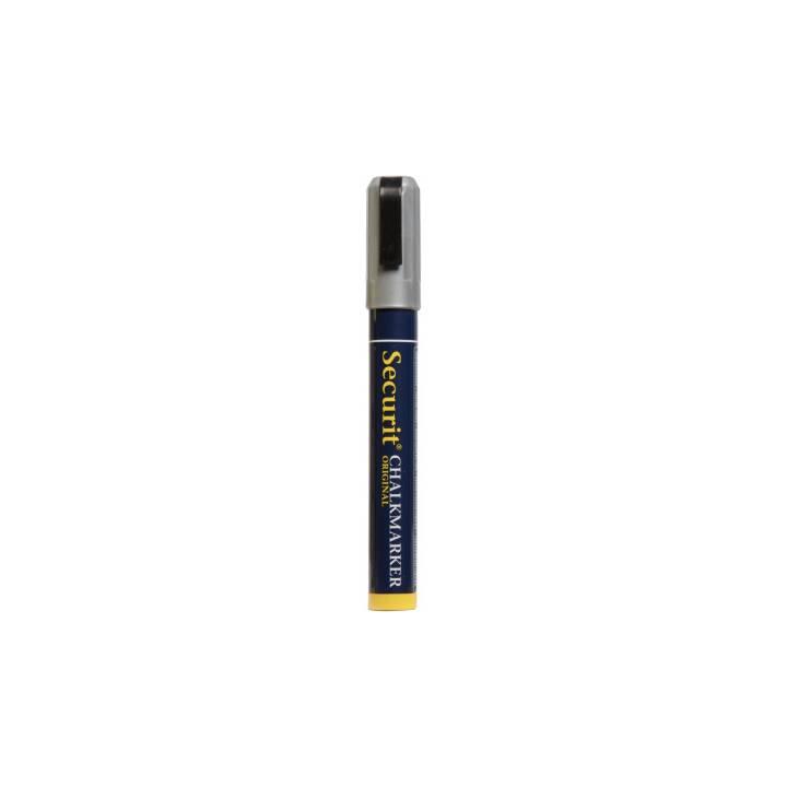 SECURIT Marqueur craie SMA510-SL (Argent, 1 pièce)