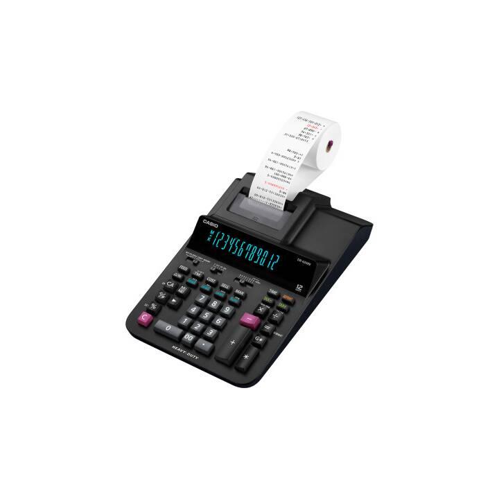 Calculatrice de bureau CASIO avec impression noire à 12 chiffres
