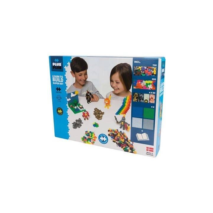 PLUS-PLUS Mattoncini di plastica Learn to Build