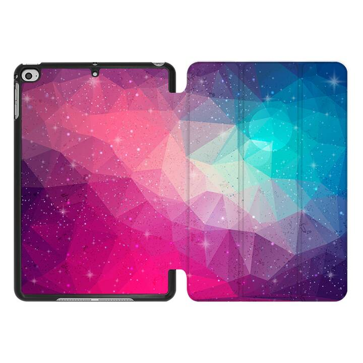 EG MTT Coque pour iPad Mini 4 (2015) et Mini 5 (2019) - Polygone