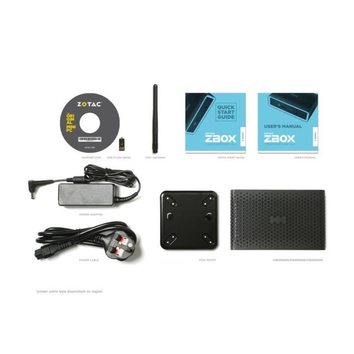 ZOTAC ZBOX CI620 nano (Intel Core i3 8130U, 0 GB, 0 Go HDD)