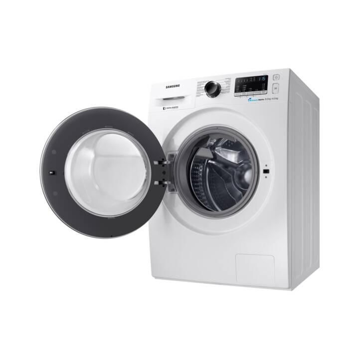 SAMSUNG Waschtrockner WD80M4A53JW/WS