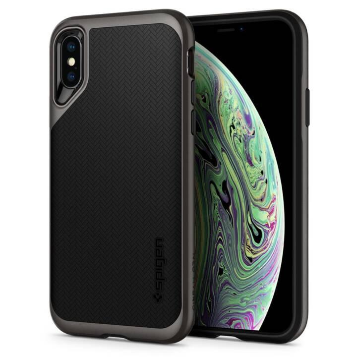 SPIGEN Neo Hybrid Crystal, iPhone XS/X, Gun Mental Grey
