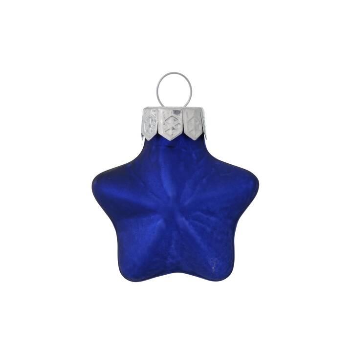 BOLTZE Decorazione per l'albero Stern (12 pezzo, Blu scuro)