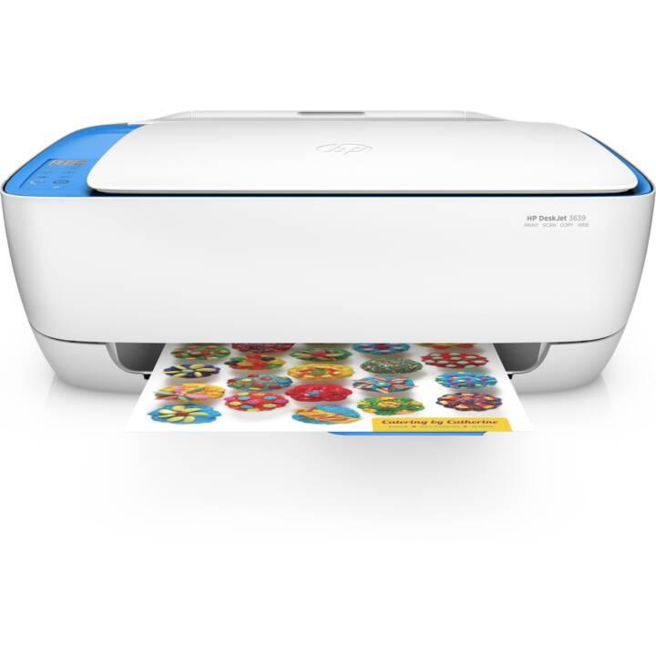 HP DeskJet 3639 (Colori, WiFi)