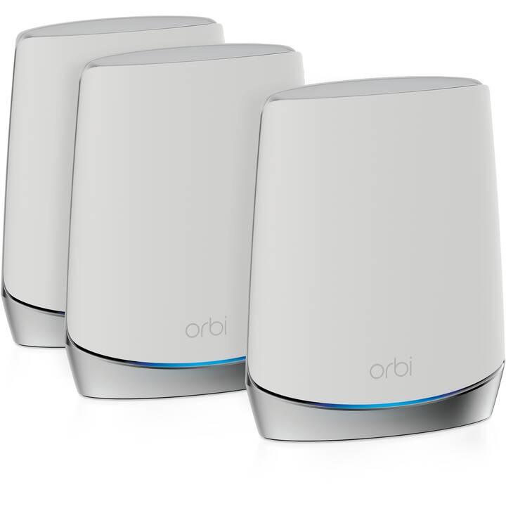 NETGEAR Orbi RBK753 AX4200 WiFi 6 Trio WLAN-Mesh System