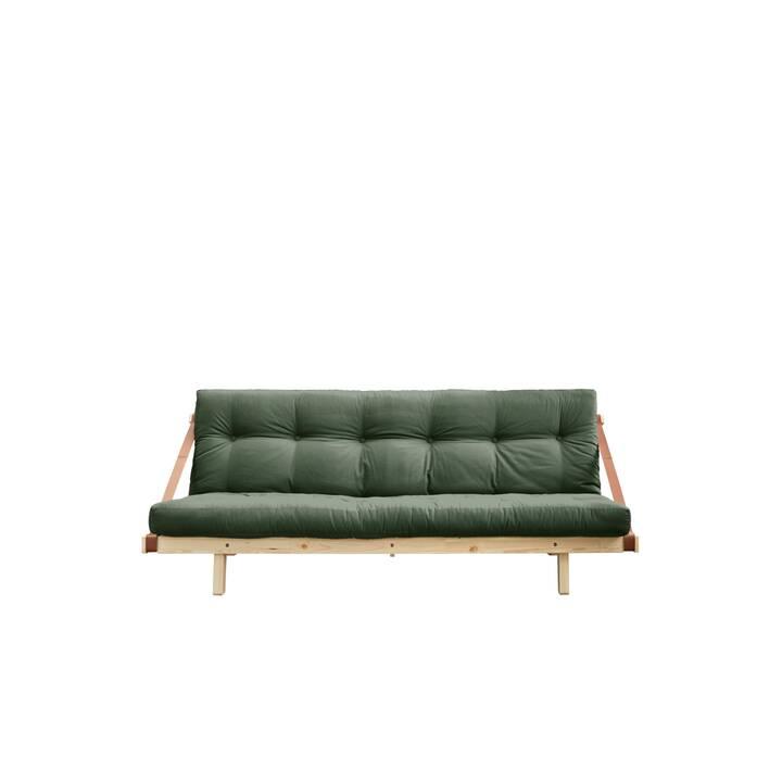 KARUP DESIGN Jump Divano letto (Cotone, Poliestere, Verde oliva, 203 cm x 106 cm)