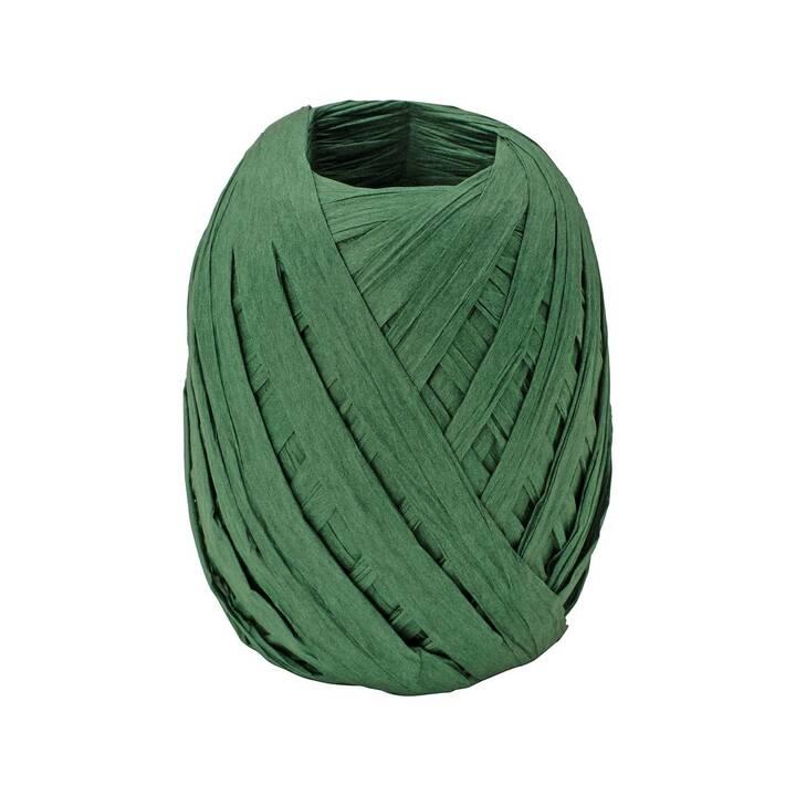 STEWO Nastri regalo Raffia (0.7 cm x 30 cm, Blu-verde, Unicolore)