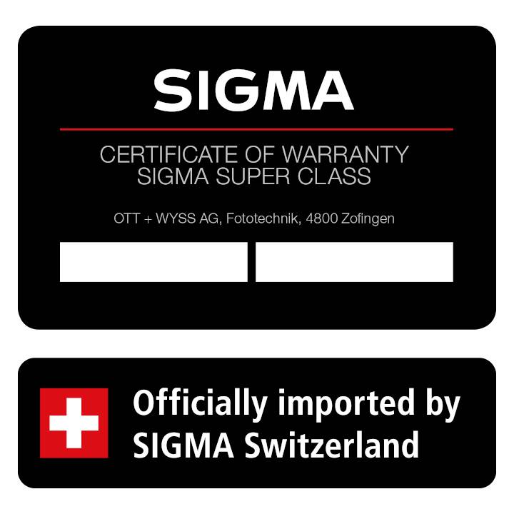 SIGMA 40 mm F1.4 DG HSM Type SLR