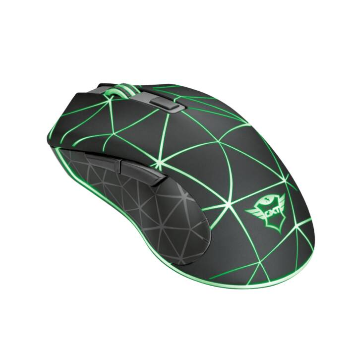 Trust GXT 133 Locx Gaming Maus USB