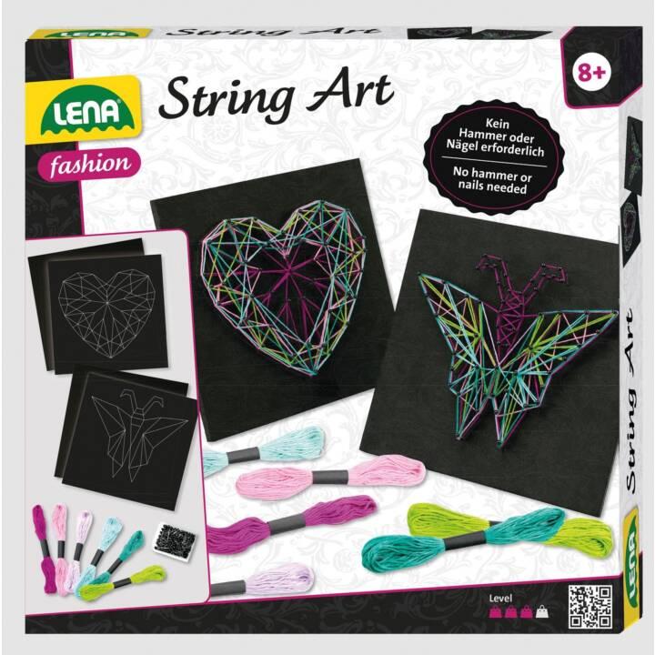 LENA Bricoler et créer String Art (Multicolore)