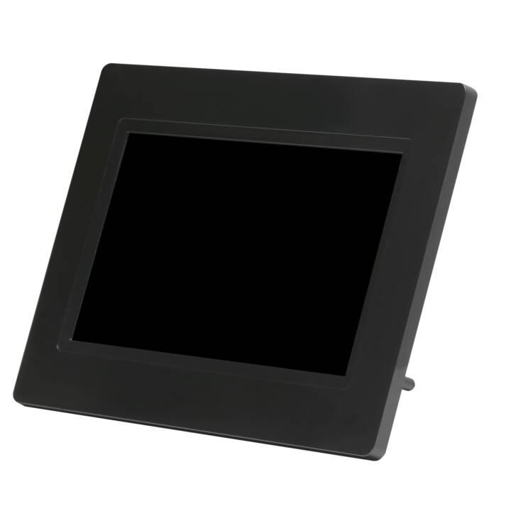 """DENVER Frameo Digitaler Interaktiver Bilderrahmen 7"""" Black"""