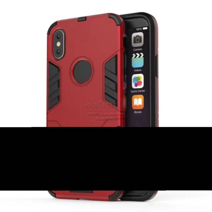 EG Backcover per iPhone X Rosso