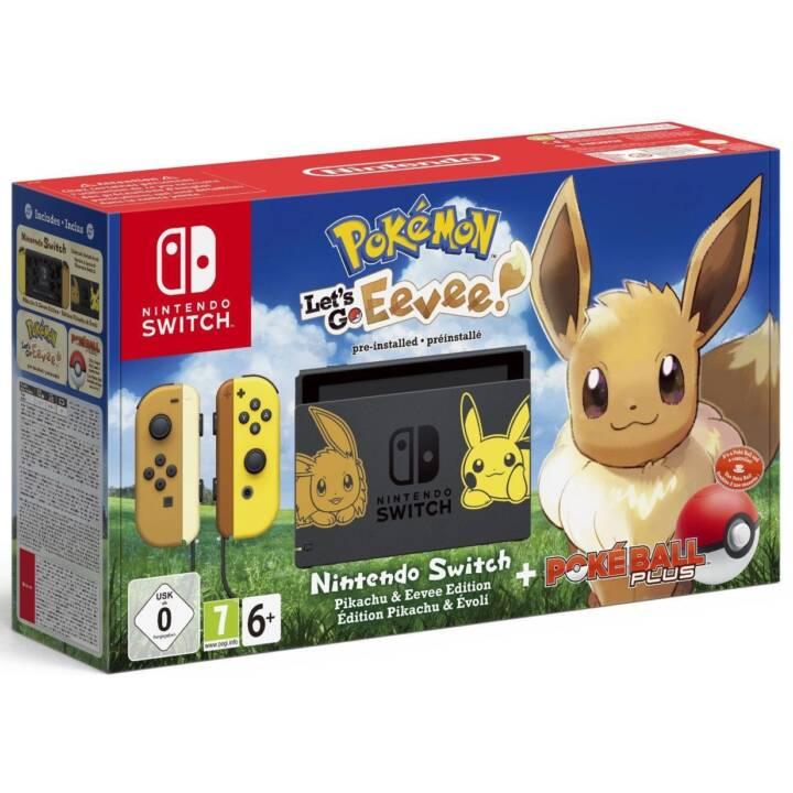 Interrupteur NINTENDO avec Pokémon : Allons-y, Evoli ! (DE/FR/IT)
