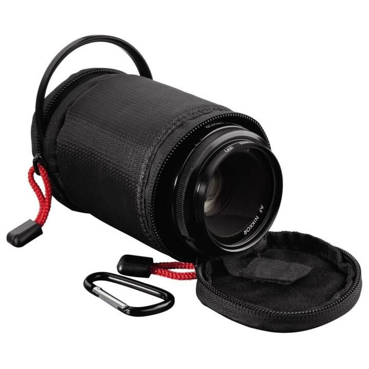 HAMA Rexton sac à lentilles, 8 x 6,5 cm, noir