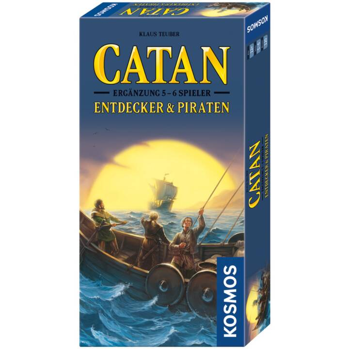 KOSMOS Catan - Esploratori e pirati