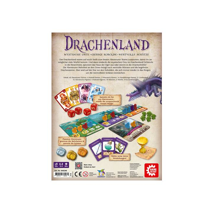 GAME FACTORY Drachenland Kooperationsspiel