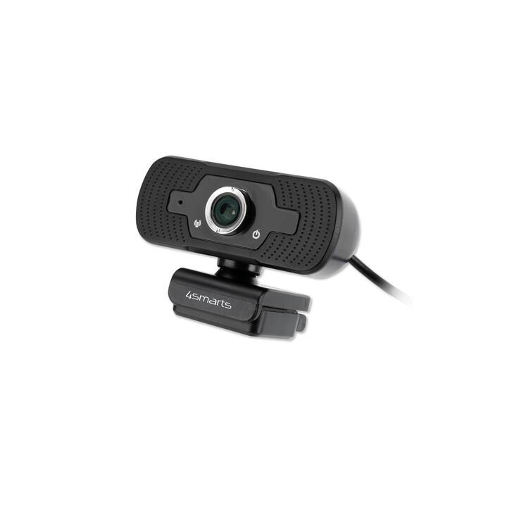 4SMARTS Webcam (Noir)