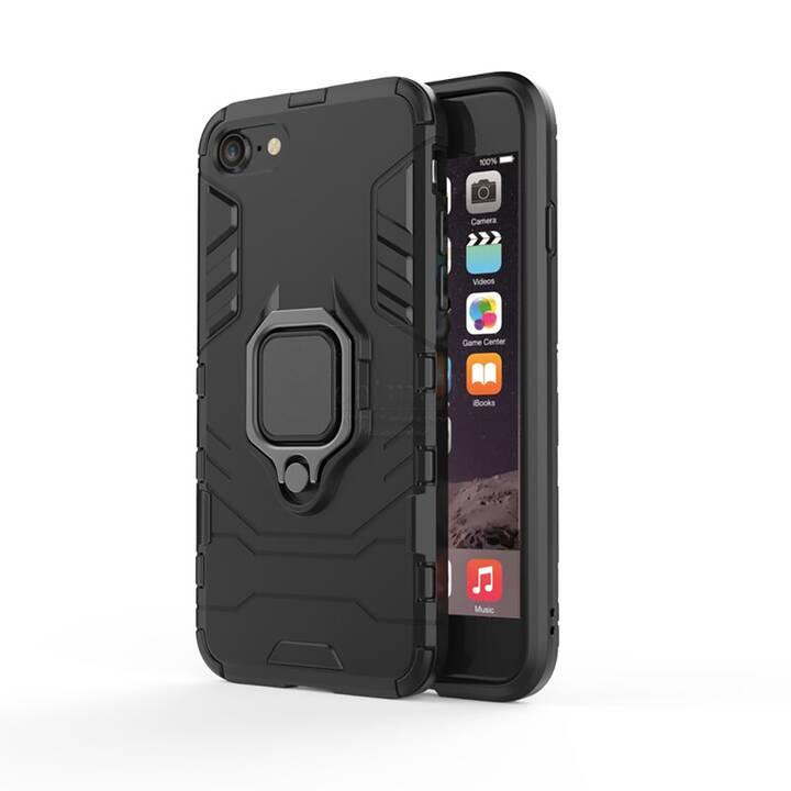 """EG Mornrise custodia con anello in metallo per Apple iPhone SE 4.7"""" 2020 - nero"""