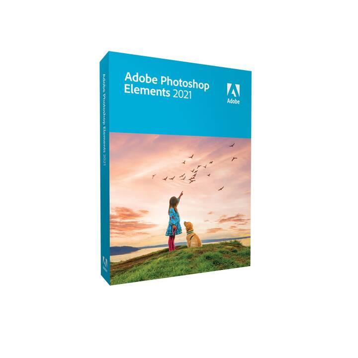 ADOBE Photoshop Elements 2021 Mac (Vollversion, Deutsch, Französisch, Italienisch)