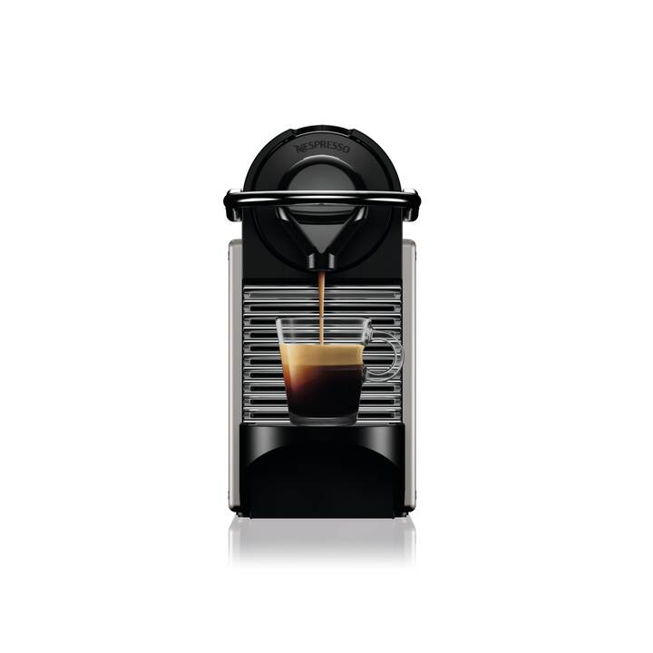 KRUPS Pixie Titan 2 XN304T (Nespresso, Titan Grey)