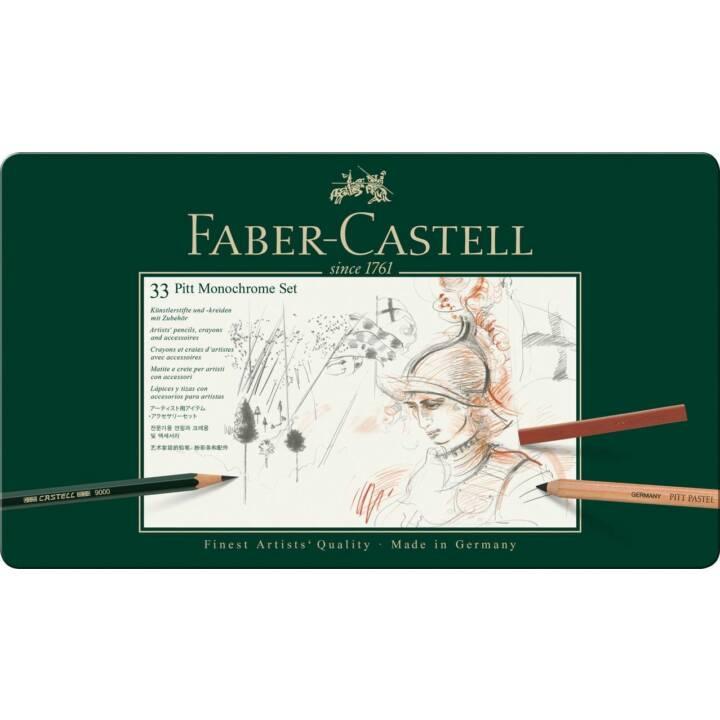 FABER-CASTELL Farbstift (Mehrfarbig, 33 Stück)