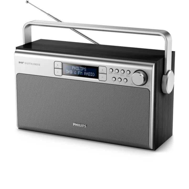 PHILIPS Radio numérique AE5220B/12 Noir