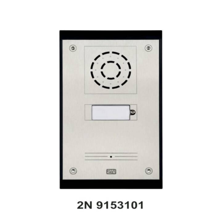 2N Terminal de porte Helios IP UNI 1 Bouton-poussoir d'appel