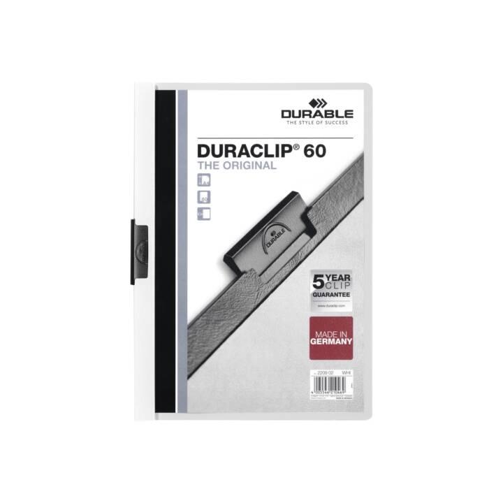 DURABLE Duraclip 60 A4 Bianco
