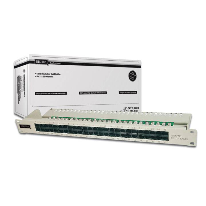 DIGITUS Patch Panel (50 x RJ-45)