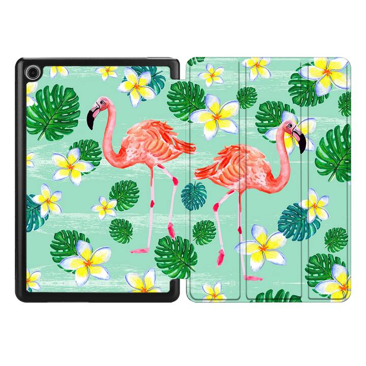 "EG MTT Coque pour HUAWEI MediaPad M5 Lite 10.1"" 2018 - flamingo"