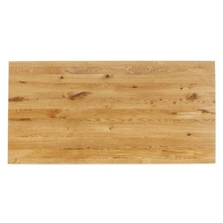 KARE Tischplatte Tavola (160 cm x 80 cm x 4 cm, Braun)