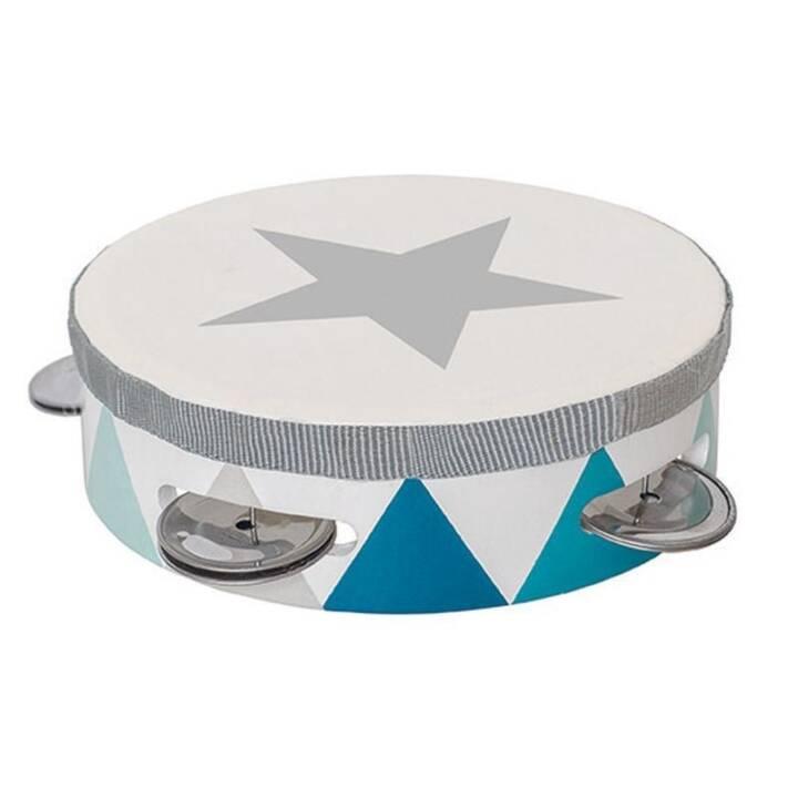 Tambourine Trommel blau null