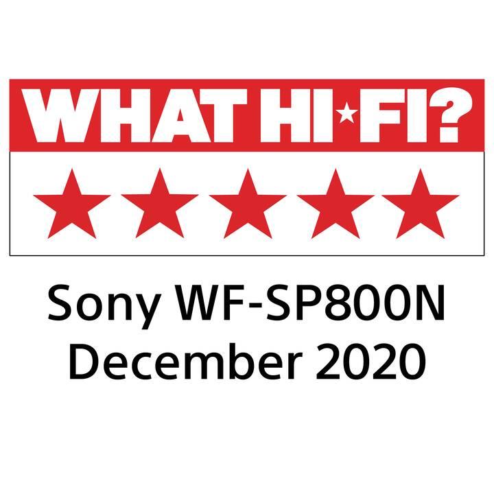 SONY WF-SP800N (In-Ear, Bluetooth, Blu)