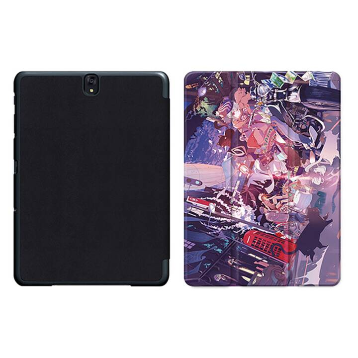 "EG MTT Tablet Bag con coperchio pieghevole Smart per Samsung Galaxy Tab S3 9.7"" MTT - Comics"