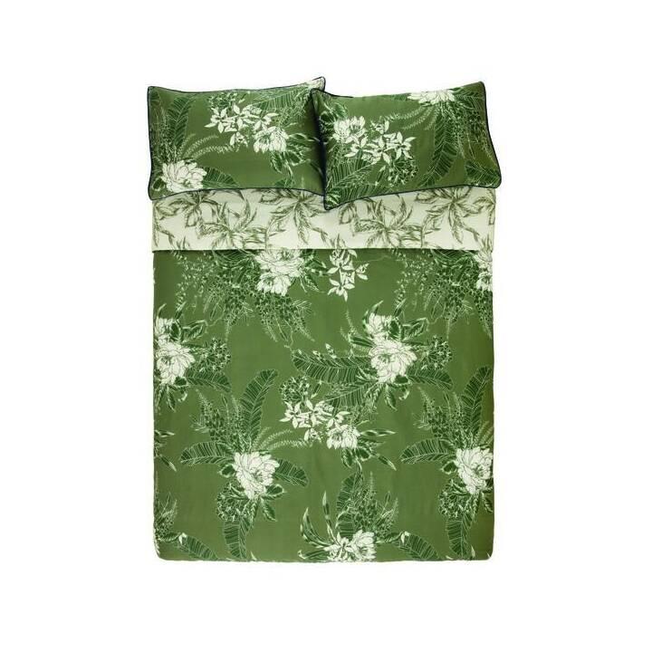 KAS Housse de couette Ivy (160 cm x 210 cm, Multicolore)