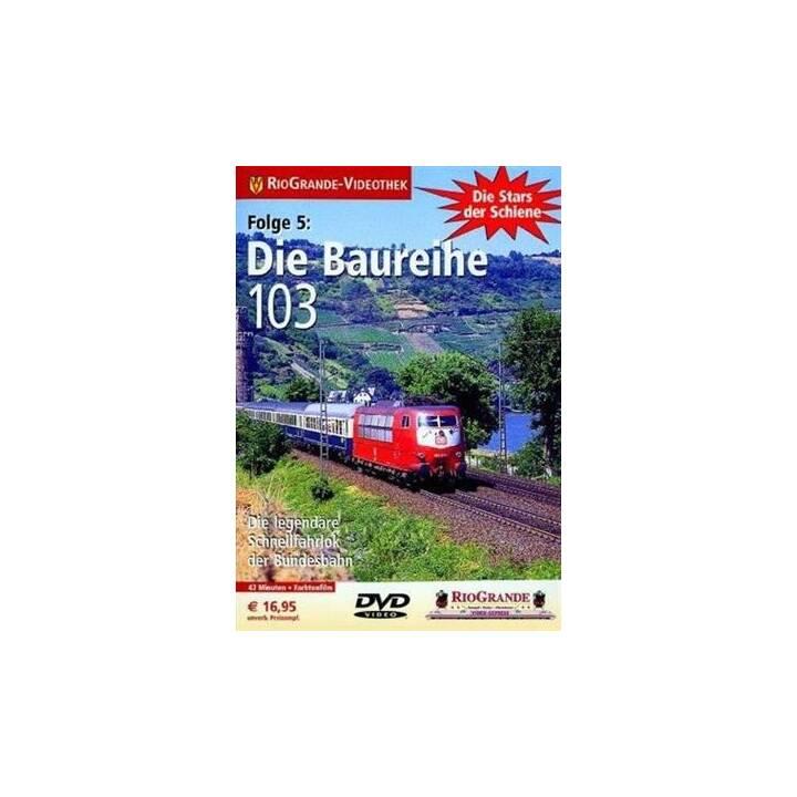 Die Baureihe 103 - Die Stars der Schiene Folge 5 (DE)