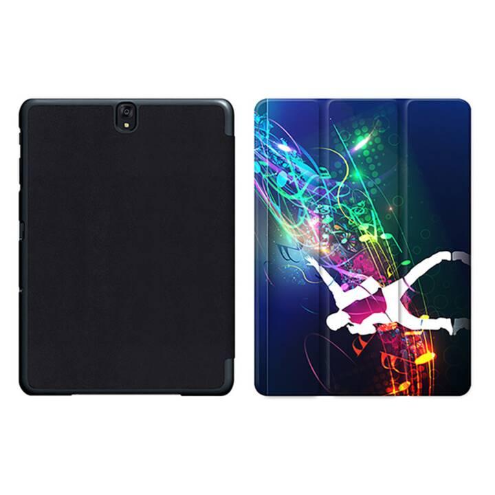 "EG MTT Tablet Bag con Smart Foldable Cover per Samsung Galaxy Tab S3 9.7 ""MTT - Cuffie"