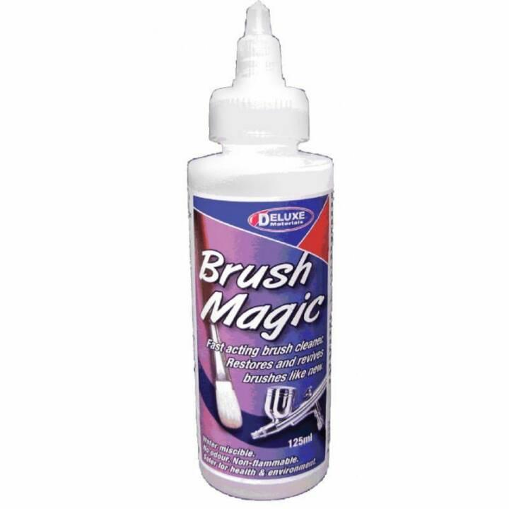 DELUXE MATERIALS Pinselreiniger Brush Magic 125 ml Transparent